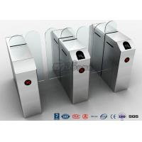 Cheap Fastlane Turnstile Remote Control Access Control Turnstiles Tempered Glass Sliding for sale