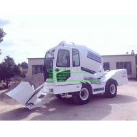 Best mobile self loading concrete mixer with Cummins engine self-loading concrete mixer truck for sale wholesale