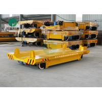 Best 1-300Ton Pipe Factory Transport Steerable Copper Coil Handling Vehicle Powered Drivable Transfer Cart With V-Deck wholesale