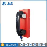 Best GSM/3G Outdoor Public Help Wall Mounted Telephones , Industrial Analog Phones wholesale