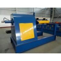 Best 1000mm Width Steel Coil Decoiler 16 Steps Type With 1 Inch Chain 70mm Shaft wholesale