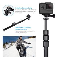 details of gopro smartphone dslr camera selfie stick hsu 3 section telescopic extension. Black Bedroom Furniture Sets. Home Design Ideas