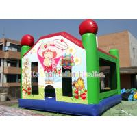 Best Beautiful Inflatable Bouncy Castle Strawberry Short Cake Jumping Bouncer wholesale