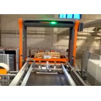Automatic Palletiser Machine For Stacking Barrels / Drums / Pails 2-4 Layers Per Minute