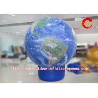 China PVC Printing Inflatable Advertising Balloons Ground Globe Balloon Commercial on sale