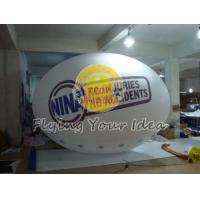 Cheap Huge Two sides digital printed Oval Balloon with Good Elastic for Outdoor for sale