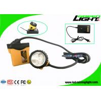 China Aluminum Miners Cap Rechargeable LED Headlamp IP68 10.4Ah SAMSUNG Battery High Safety on sale