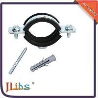 Quality Rubber Lined Galvanized Pipe Clamps wholesale