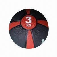 Best Rubber Medicine Ball, Measures 23cm, Suitable for Therapeutic Body Training wholesale