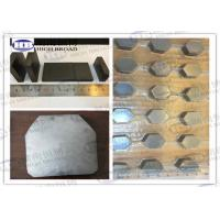 Buy cheap Boron carbide B4C / Silicon Carbide SiC Armor Ceramic bulletproof plates from wholesalers