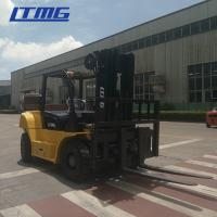 China FD80 Model Counterbalance Forklift Truck 8 Ton Forklift 600mm Load Center on sale