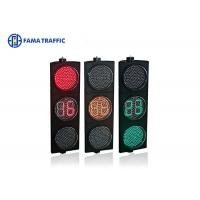 Best 400mm Full Ball LED Traffic Light Countdown Meter Dust Resistant Without Lens wholesale