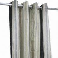 Best 100% Polyester Sheer Curtain, Customized Sizes are Welcome wholesale