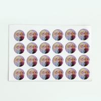 Buy cheap Eco - Friendly Laser Sticker Custom Self Adhesive 3d Epoxy Domed Sticker from wholesalers