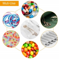 Best Clear Poly Zipper Bags Reclosable Zip-lock Storage Bags for Candy, Vitamin wholesale