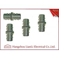 "Best 1/2"" 3/4"" Screw Coupling Flexible Conduit Fittings , Custom Threaded Pipe Fittings wholesale"