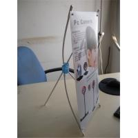 Cheap Mini Desktop Portable X Stand Banners ,Tripod Banner Stand 250*420mm for sale