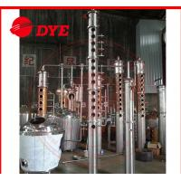 Best Semi-Automatic Red Copper Small Moonshine Still Distillation 3MM Thickness wholesale
