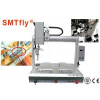 Best 4 Axis PCB Robotic Soldering Machine Customized Thermode 1-99.9s Heating Time wholesale