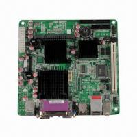 Buy cheap Mini-ITX Motherboard, D945GSEMA, Single-core CPU on Board with Intel Atom N270 from wholesalers