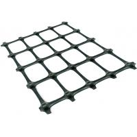 Best Plastic PP Biaxial Geogrid Reinforcing Fabric Black Color For Soil Reinforcement wholesale