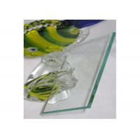 4mm Clear Float Glass Safety Laminated Float Glass For Officer Window / Door
