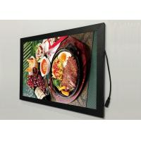 Best A2  Flat Snap Frame Led Light Box Black Color Backlit For Restaurant Menu Display wholesale