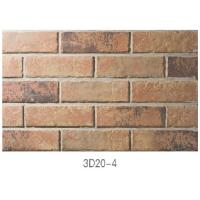 Best 3D20-4 Lightweight Pure Clay Thin Veneer Brick For Indoor / Outdoor Wall wholesale
