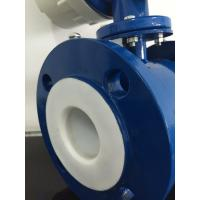 Quality Gasoline Stainless Steel Electromagnetic Flow Meter with Rubber Linging wholesale