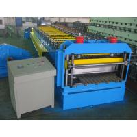Best Automatic Metal Glazed Roof Tile Roll Forming Machine Siemens PLC Control for Mexico Market wholesale