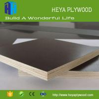 Best Melamine film faced 18mm plywood wholesale factory price Chinese supplier wholesale
