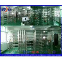 Cheap Double Lane Full Height Turnstile 304 Stainless Steel Turnstiles CE Approved for sale