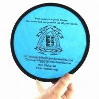 Best Pop-up Fan, Made of 190T Nylon and Steel Ring wholesale
