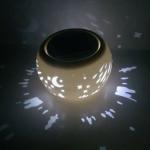 Best New Fashion Design Solar Ceramics Light wholesale
