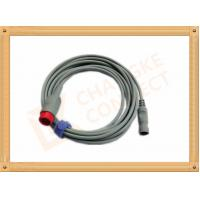 Buy cheap IBP Adapter Cable B .Braun Invasive Blood Pressure Cable 12 Pin , UL And Rohs from wholesalers