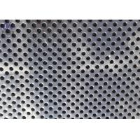 China Stainless Steel Round Hole Perforated Metal Sheet Punching Mesh on sale