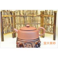 Best Handmade Purple Sand Teapot  , 180cc Yixing Clay Teapot Eco - Friendly wholesale