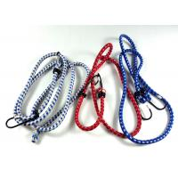 Best Motorcycle Retractable Elastic Rope With Hooks / Luggage Strap 80-140cm Length wholesale