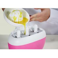 Best Delicate Flash Freeze Popsicle Maker , Quick Ice Lolly Maker Quick Freezing Time wholesale