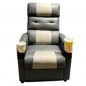 Best Synthetic Leather Home Theater Seating Furniture Movie Theater Sofa wholesale