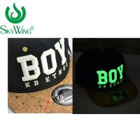 Best Adults Safety Flat Brim Golf Hats Ping 3D Glow In The Dark Embroidery wholesale
