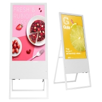 Best Octa Core LCD Advertising Display 3mm Glass Digital Ad Screen AC 110V wholesale