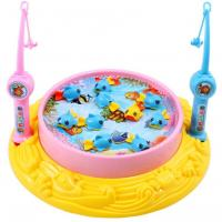 Best 2020 New Arrival Fishing Toys Child Music Playing House USB Electronic Fishing Platform Spin Magnetics For chlidren kids wholesale