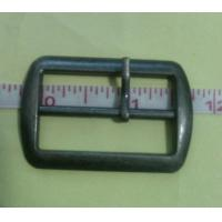 China Hand made hanging Gunmetal 3.5cm alloy Cloth Belt Buckle / accessory on sale
