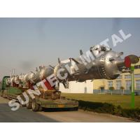 China Nickel Alloy C-59 Distillation Tower / Column for Butyl Alcohol on sale