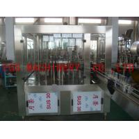 Best 6000BPH whisky Wine Bottle Filling Machine , Glass Bottle 3-In-1 Alcohol Filling Machine wholesale