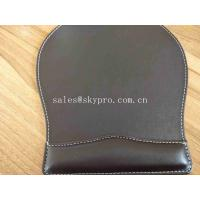 Best OEM Customized Printing Office PU Leather Mouse Mat Fashion Computer Mouse Pad wholesale