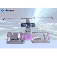 Best 2 Seats Magic Interactive Virtual Reality Platform With Shooting Game Entertainment Center wholesale