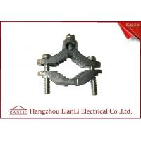 Best Zinc Bare Wre Gound Clamps With Straps Brass Electrical Wiring Accessories wholesale