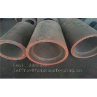 China C15  Forged Sleeves  Forged Tube / Block with hole Forged Ring Normalized And Proof Machined on sale